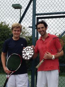 Ben & Olly, men's doubles champions