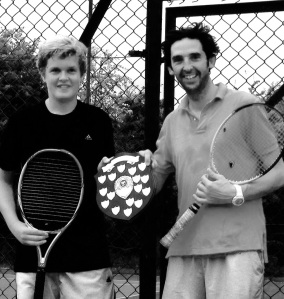 Ben & Olly, Men's Doubles Winners